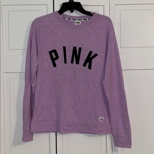 PINK long sleeve shirt - WORN ONCE
